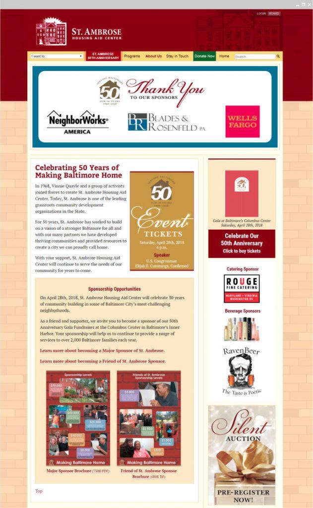 St. Ambrose Website