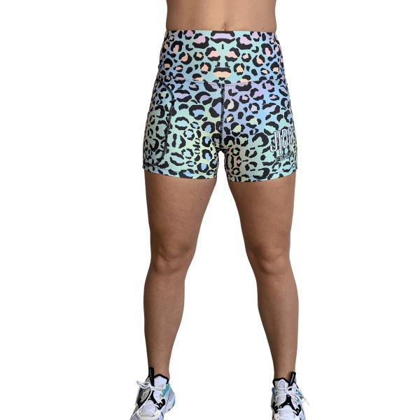 Pastel Leopards Shorts
