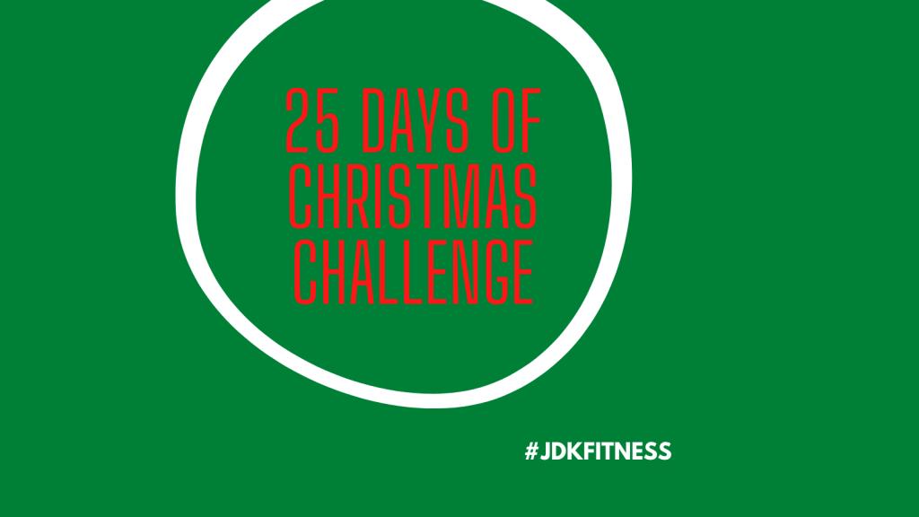 25 Days of Christmas Challenge