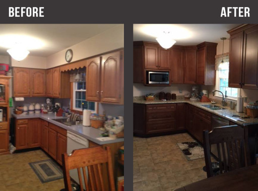 Small Kitchen Renovation  JD Kitchens  Hagerstown MD