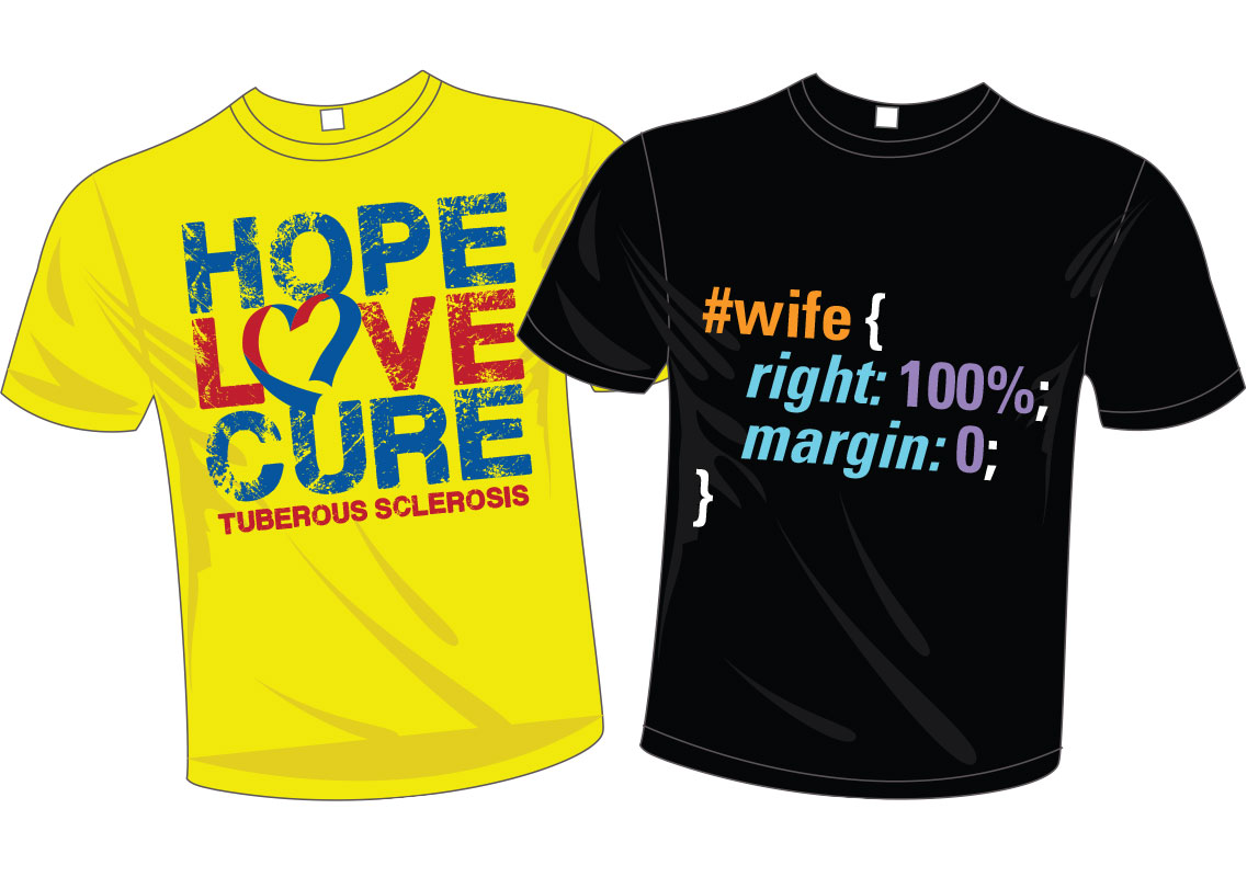 t-shirts designs at JDL Designs