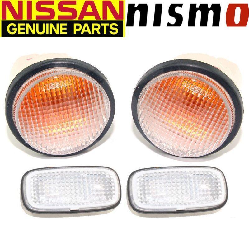 Genuine Nissan Nismo Skyline Gtr Bcnr33 R33 Clear Front