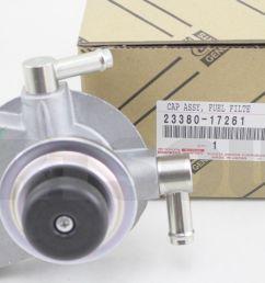 genuine toyota landcruiser 80 series fuel filter  [ 1301 x 872 Pixel ]
