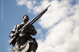 Argyll and Sutherland Highlanders statue