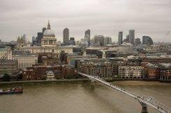 St Pauls Cathedral, Millenium Bridge