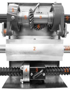 Stirrer Gearbox Diagram Image