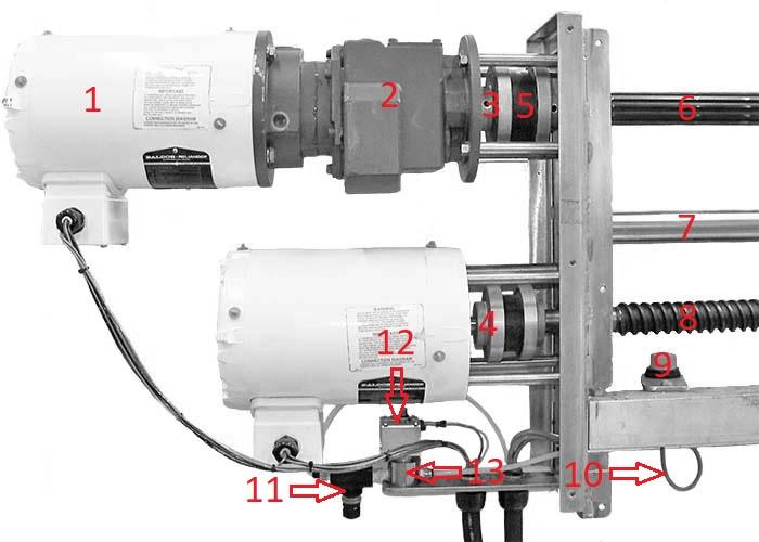 Stirrer Shaft Drive Diagram Image