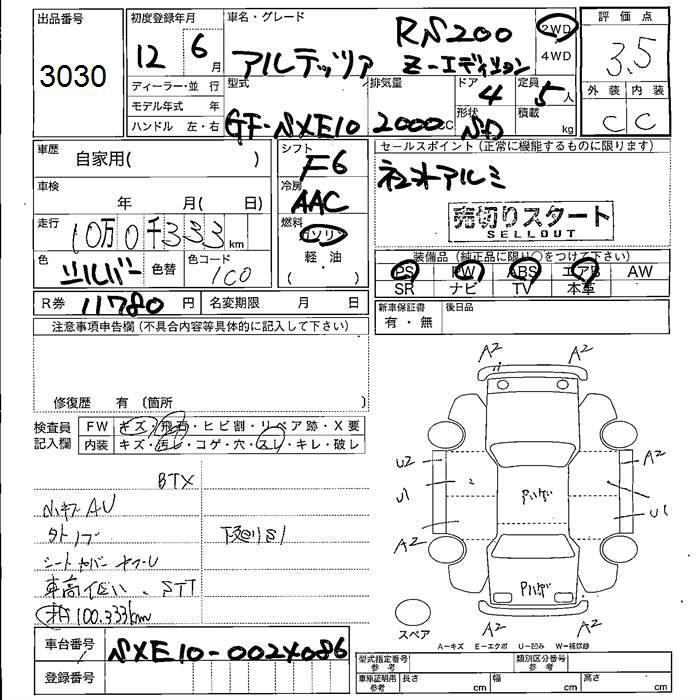 2000 Toyota Altezza RS200 Z EDITION