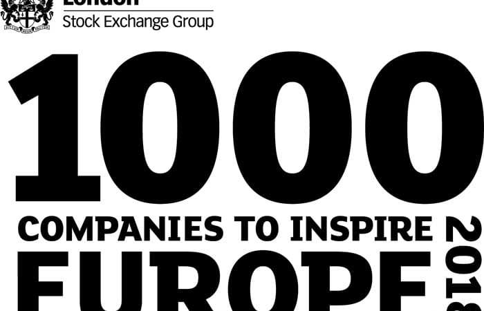 top 1000 companies to inspire Europe