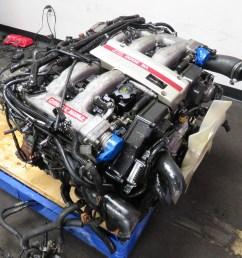 90 96 jdm nissan 300zx twin turbo vg30dett 3 0l v6 engine automatic twin turbo mazda wiring harness [ 2048 x 1536 Pixel ]