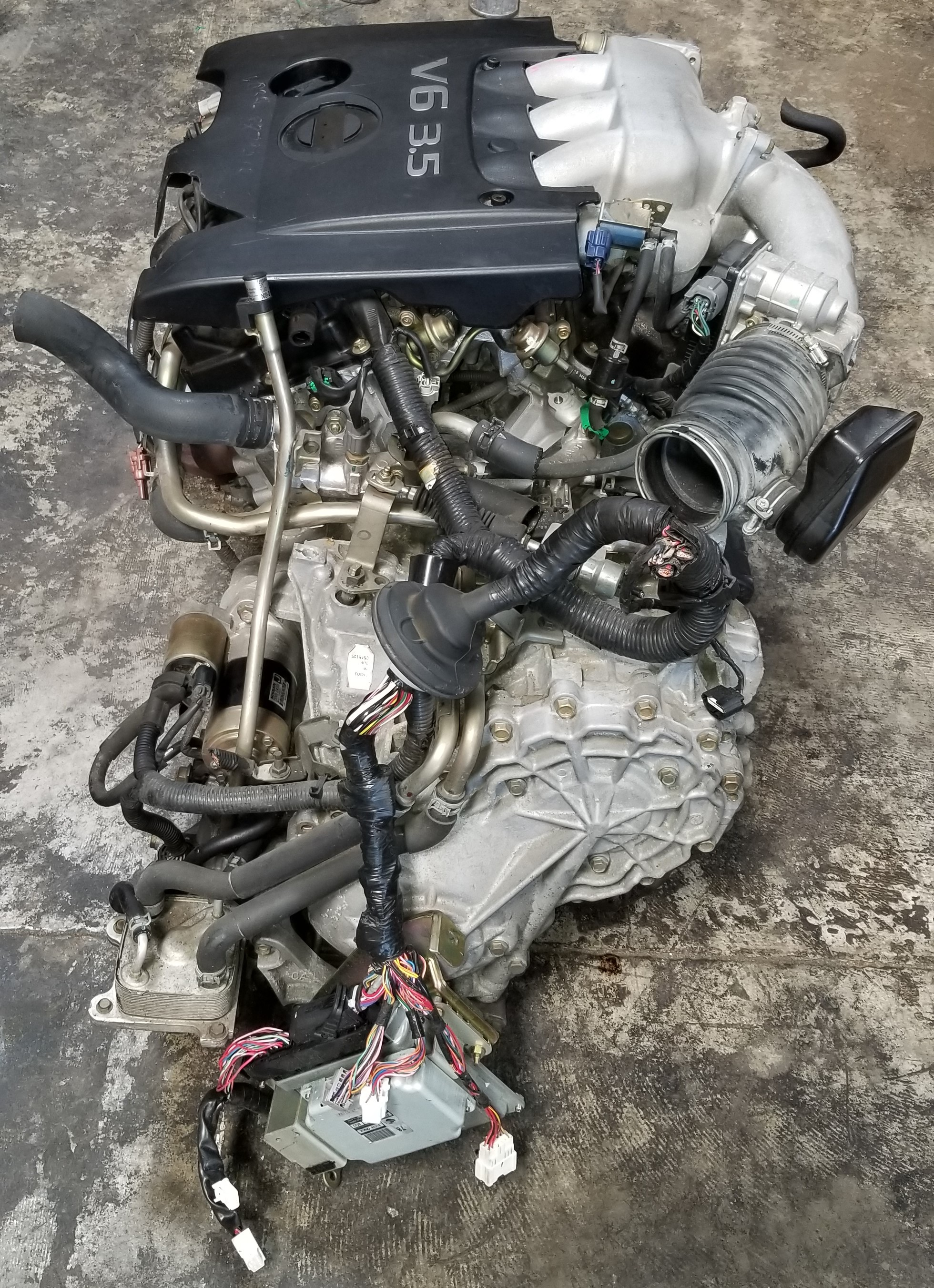 5l Nissan Murano Engine Block Cylinder Head Components Parts Diagram
