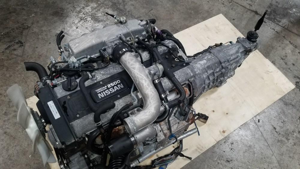 medium resolution of rb25det nissan skyline r33 rb25 2 5l series 2 turbo engine with 5 speed manual transmission complete swap