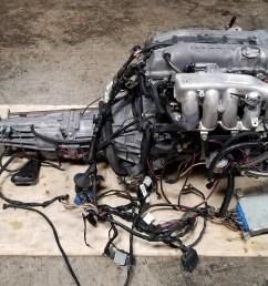 sr20det s14 notch top 2 0l turbo engine with 5 speed manual transmission nissan silvia 200sx sr20 [ 3445 x 2267 Pixel ]