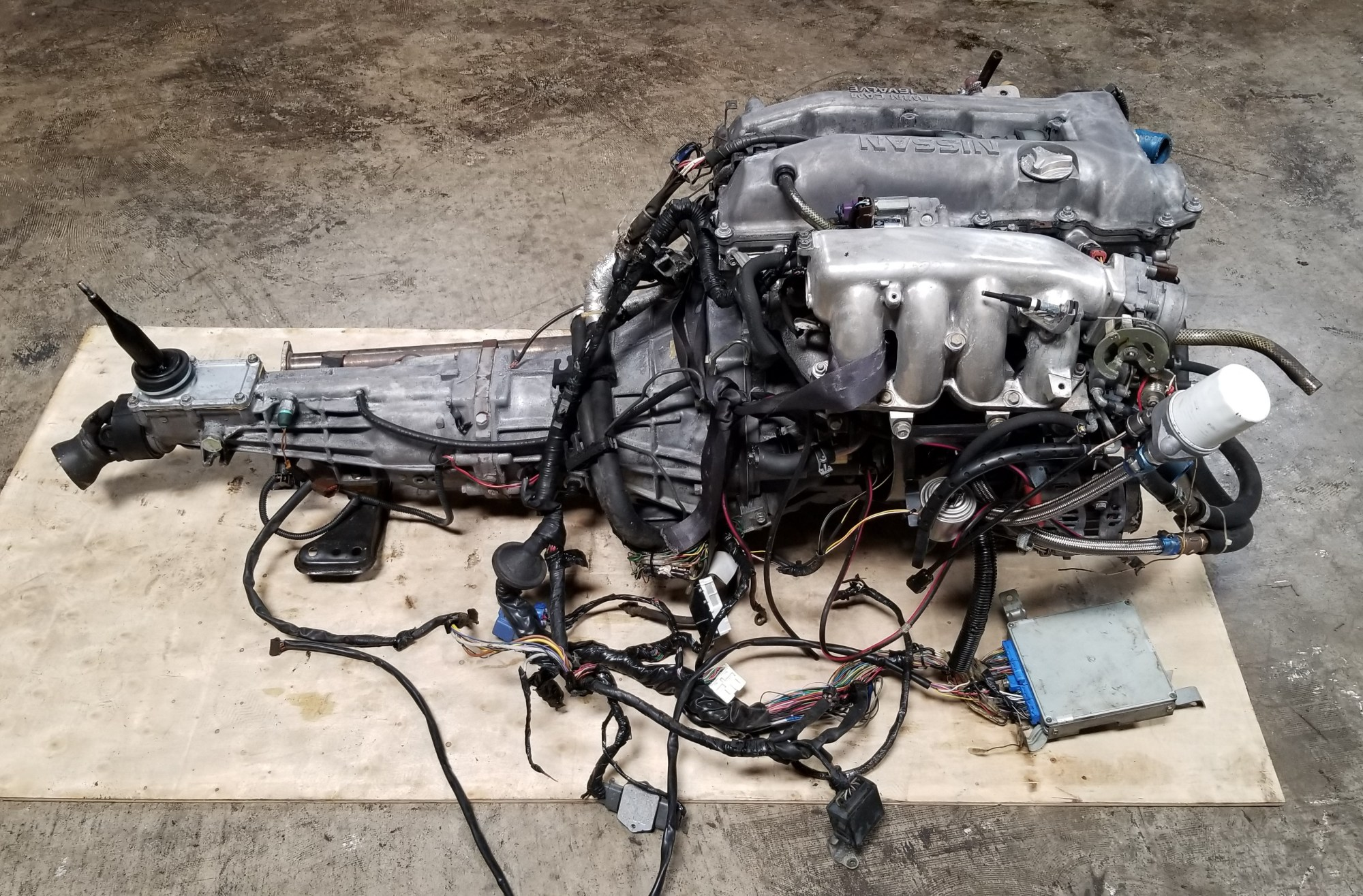 hight resolution of sr20det s14 notch top 2 0l turbo engine with 5 speed manual transmission nissan silvia 200sx sr20