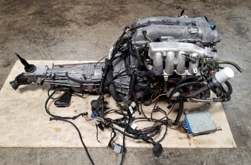 small resolution of sr20det s14 notch top 2 0l turbo engine with 5 speed manual transmission nissan silvia 200sx sr20