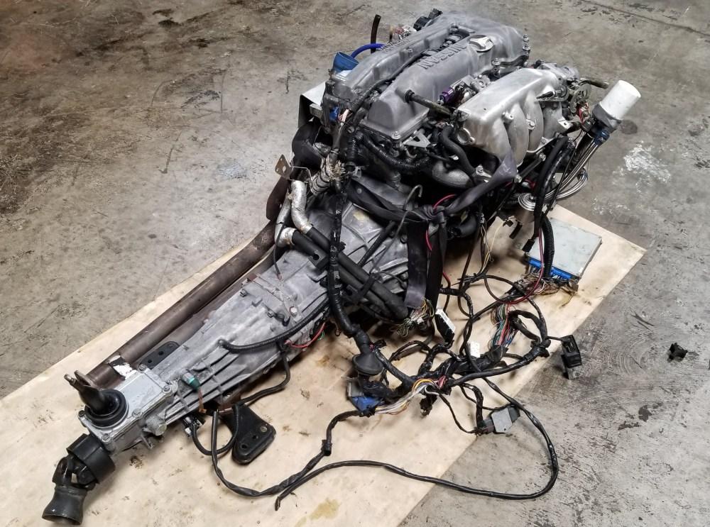 medium resolution of sr20det s14 notch top 2 0l turbo engine with 5 speed manual transmission nissan silvia 200sx sr20