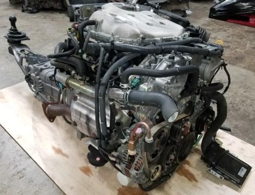 small resolution of vq35de 2002 2005 nissan 350z g35 3 5l v6 engine with 6 speed manual 2003 nissan 350z engine diagram 2003 nissan 350z engine schematics
