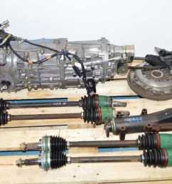 used subaru 5 speed wrx ty754vbbaa turbo transmission replacement for ty754vv5aa [ 1200 x 796 Pixel ]