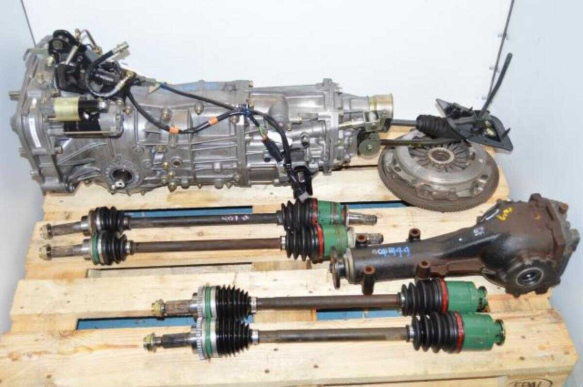 hight resolution of used subaru 5 speed wrx ty754vbbaa turbo transmission replacement for ty754vv5aa