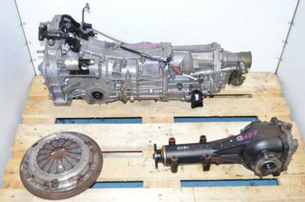 medium resolution of jdm 5 speed manual transmission for wrx 2006 2007 push type with 4 444 rear matching