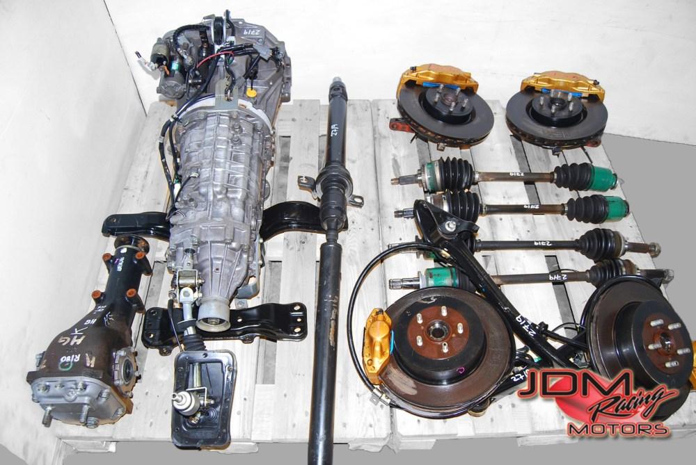medium resolution of jdm 6 speed sti transmissions 43 item title impreza wrx 5mt manual transmissions