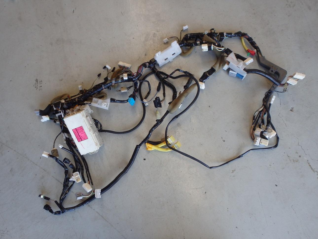 hight resolution of mitsubishi lancer evolution evo 7 vii ct9a dash fuse box wiring loom harness