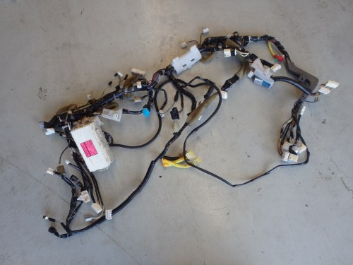 small resolution of mitsubishi lancer evolution evo 7 vii ct9a dash fuse box wiring loom harness