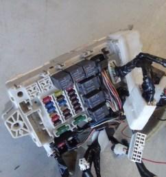 mitsubishi lancer evolution evo 7 vii ct9a dash fuse box wiring loom harness [ 1290 x 968 Pixel ]