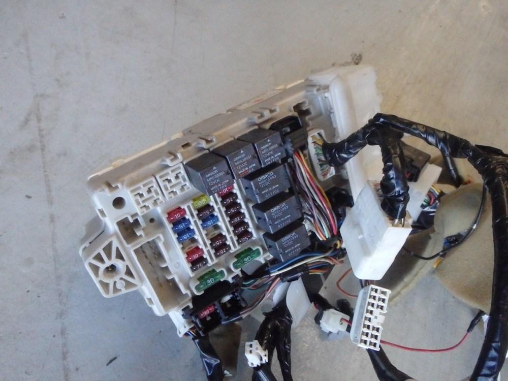 medium resolution of mitsubishi lancer evolution evo 7 vii ct9a dash fuse box wiring loom harness
