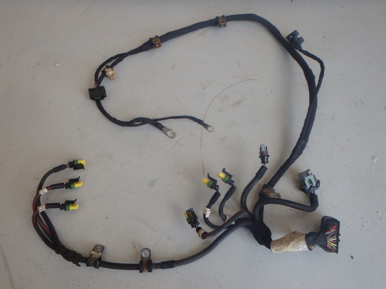 hight resolution of maserati coupe 4200 gt m138 f1 transmission wiring loom harness 184916 j086