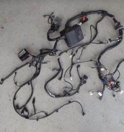 mitsubishi lancer evo x 10 cz4a engine bay headlight fuse box wiring harness [ 1290 x 968 Pixel ]
