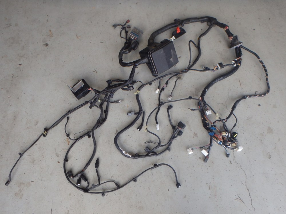 medium resolution of mitsubishi lancer evo x 10 cz4a engine bay headlight fuse box wiring harness