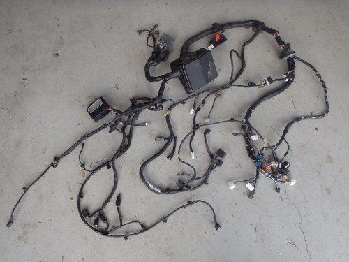 small resolution of mitsubishi lancer evo x 10 cz4a engine bay headlight fuse box wiring harness