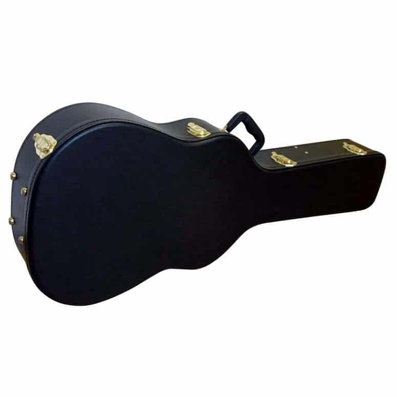 Hardcase i trä till akustisk western gitarr dreadnought