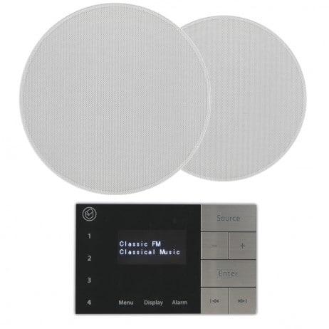 Systemline E100 med takhögtalare