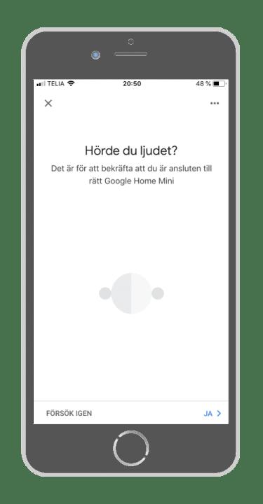 Google Home - Hörde du ljudet
