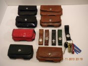 Various cases and key fobs