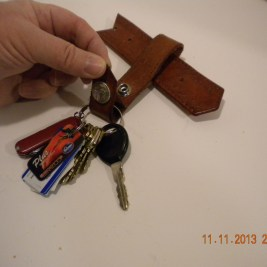 Key FOB which opens from the bottom