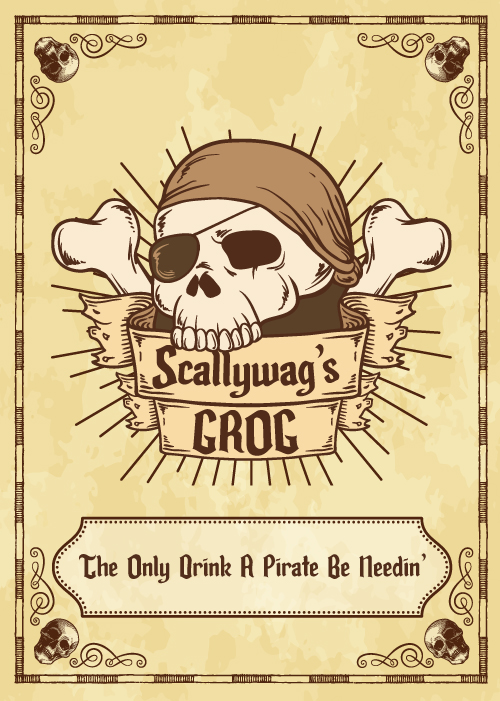 Skull and crossbones vector created by Freepik