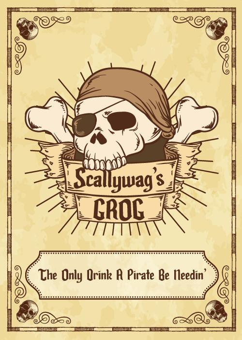Skull and crossbones vector created by Freepik
