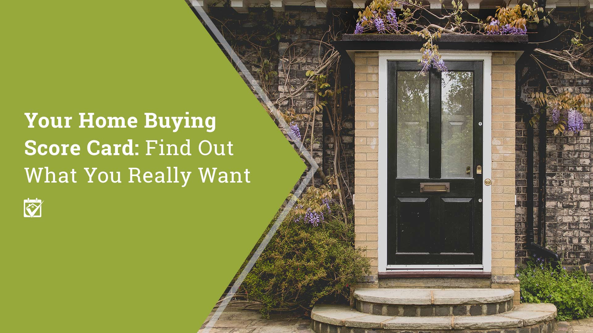 First Time Home Buyer And Wants Versus Needs In A Home