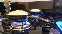 Preparo da batata suíça