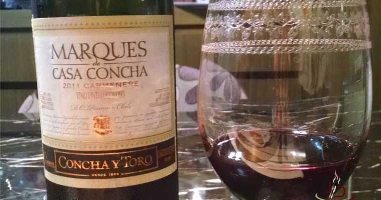 Vinho: Marques de Casa Concha Carménère 2011
