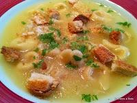 Sopa de Capeletti – da Itália para esquentar seu inverno.