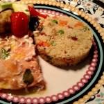 Salmão e Couscous Marroquino: Combinação Perfeita