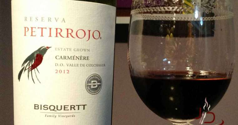 Petirrojo um ótimo rótulo da vinícola Bisquertt