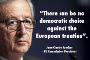EU wil medezeggenschap burgers via petities de nek omdraaien