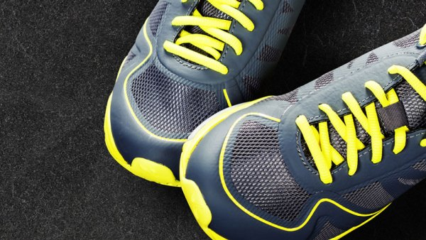 40-Day Step Challenge blog image - a pair of trainers