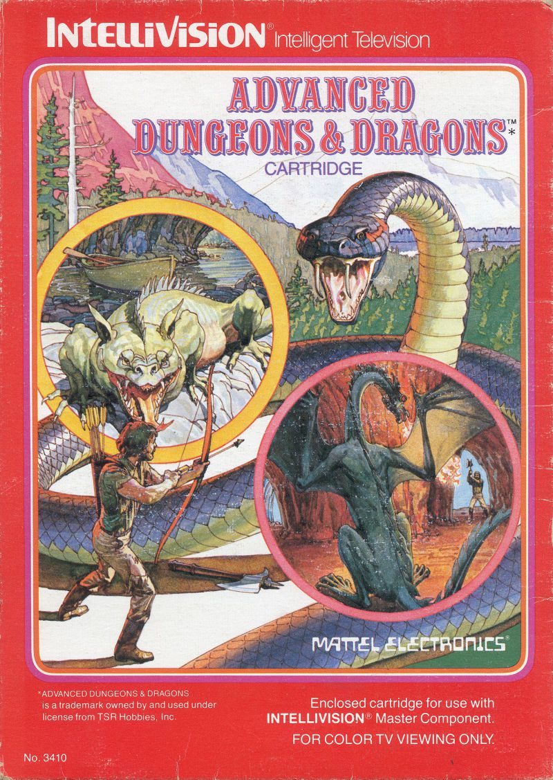 Advanced Dungeons & Dragons: Cloudy Mountain sur JDRPG.FR