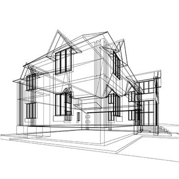JDSfaulkner Residential Services House Drawing